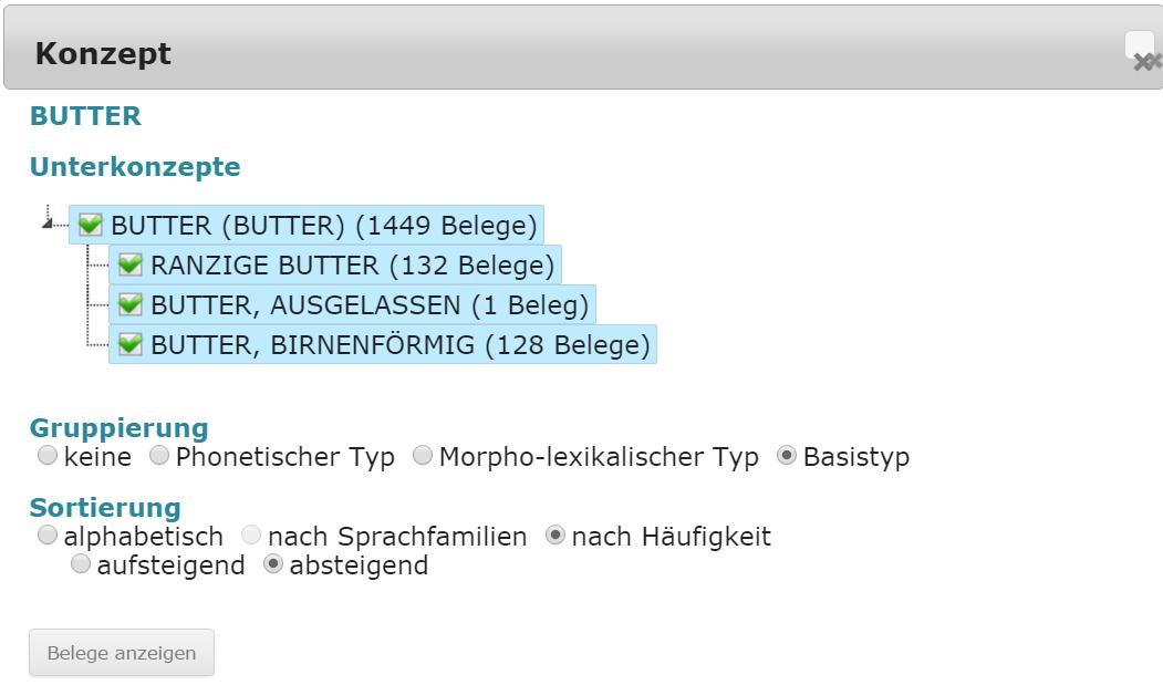 BUTTER_sortieren